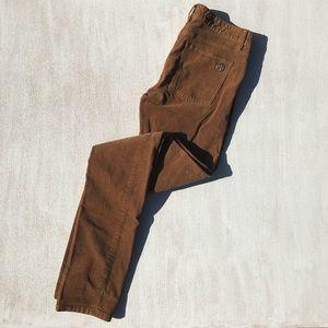 {Tory Burch} Ivy Super Skinny Corduroy Pants